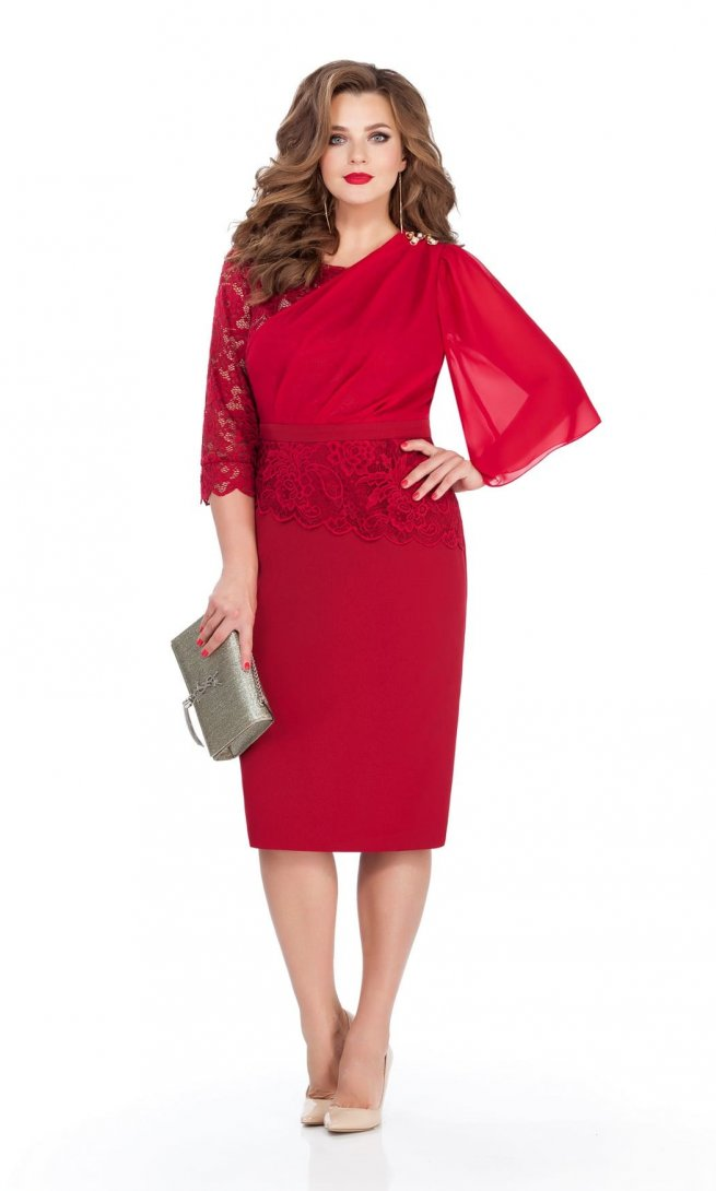 Платье Teza 236 красное