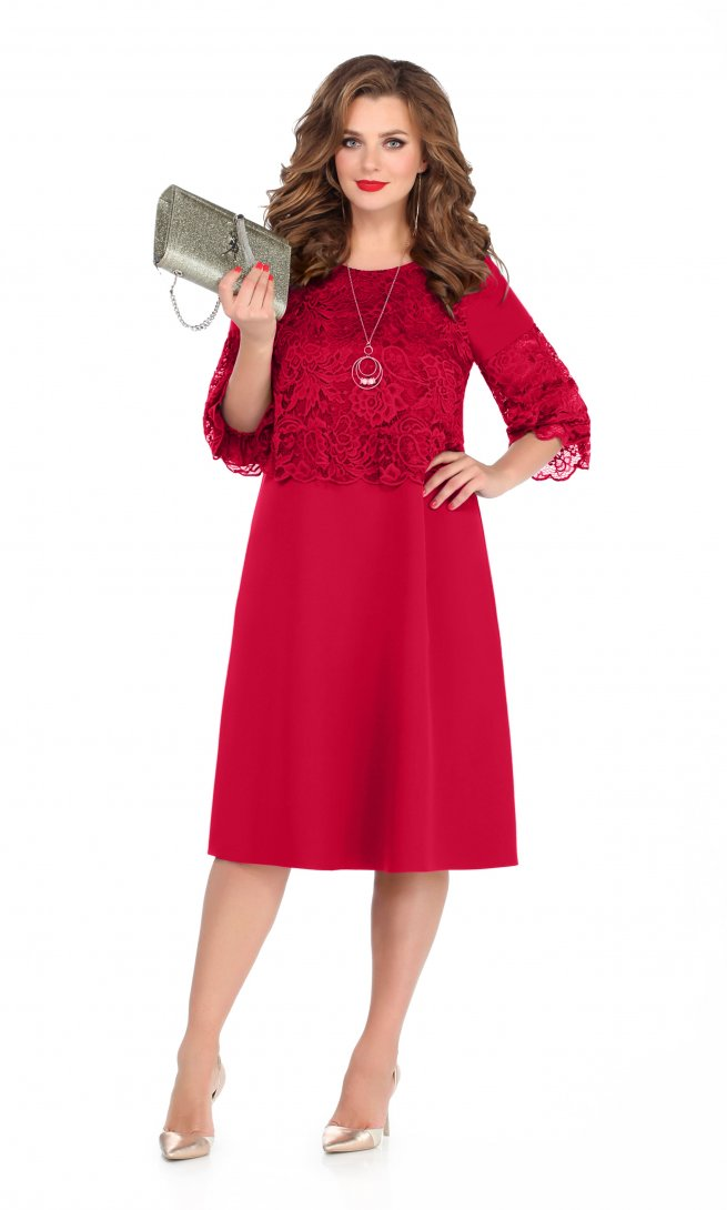 Платье Teza 239 красное