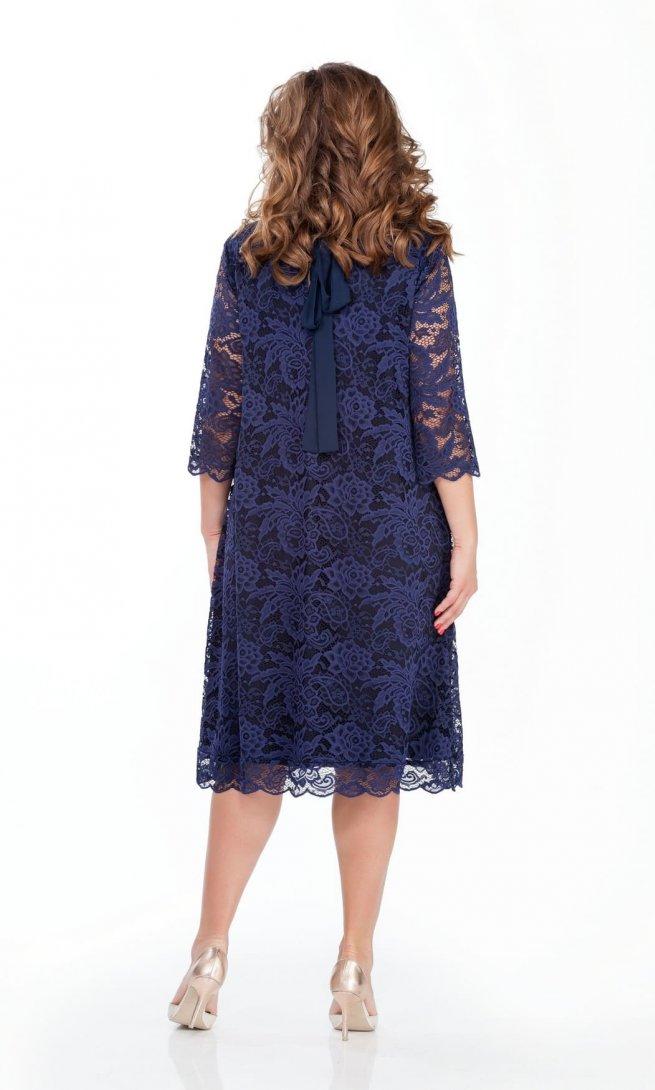 Платье Teza 249 темно-синее