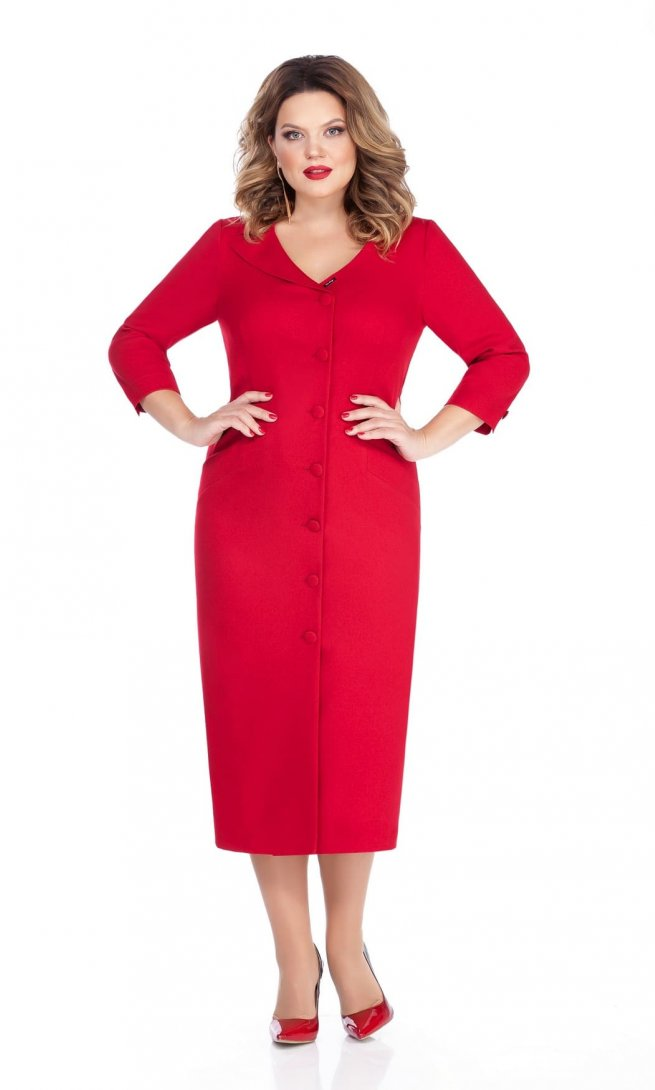 Платье Teza 255 красное