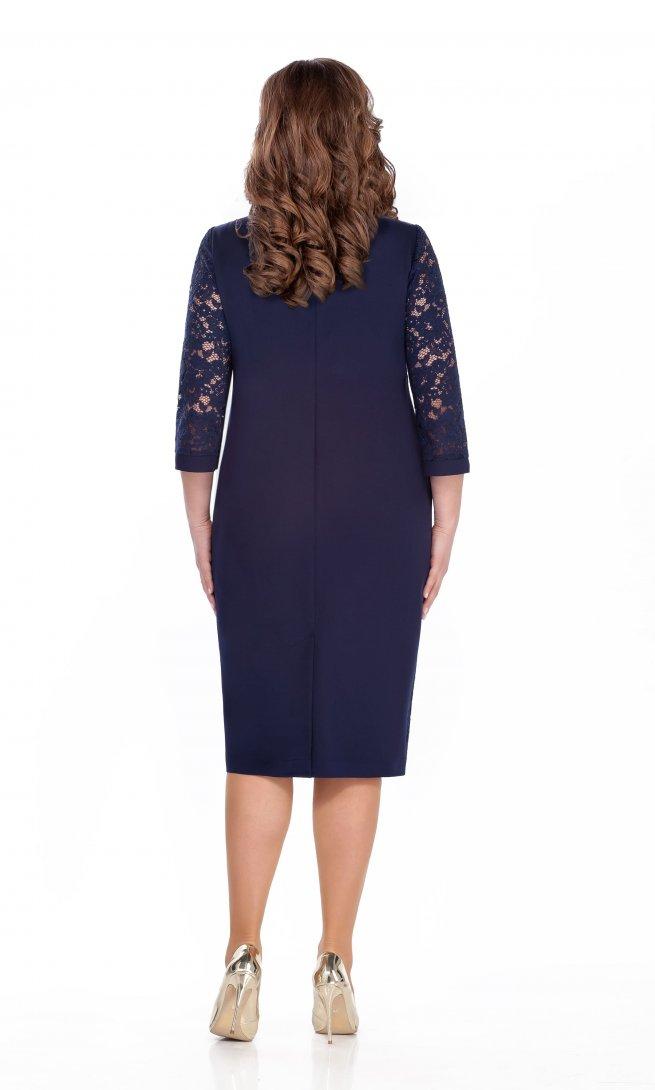 Платье Teza 284 синее